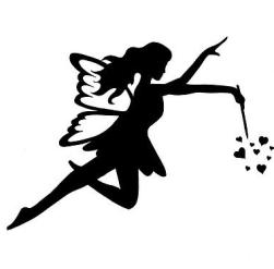 Fairy with heart dust