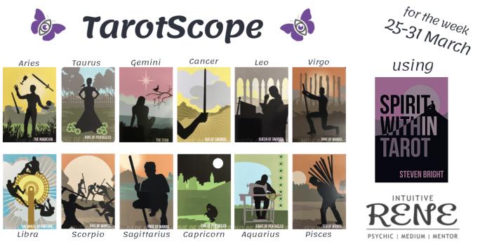 TarotScope 25 March 2019 – Intuitive Rene